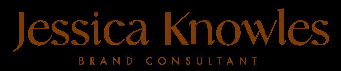 Jessica Knowles: Brand Consultant & Designer Logo